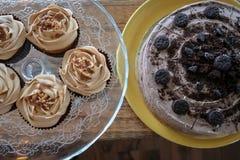 Sommige snoepjes voor een dessert royalty-vrije stock foto's