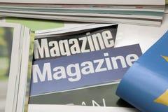Sommige tijdschriften royalty-vrije stock fotografie