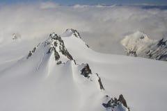 Sommità alpina Fotografia Stock