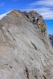 Sommità del Mt Titlis nelle alpi svizzere Immagine Stock