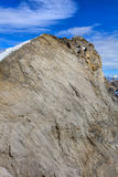 Sommità del Mt Titlis nelle alpi svizzere nell'orario invernale Fotografia Stock