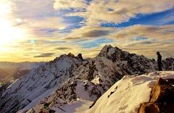 Sommità dell'Austria dell'occhiata Fotografie Stock