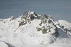 Sommità della montagna Fotografia Stock Libera da Diritti