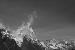 Sommità della montagna Immagini Stock Libere da Diritti