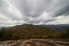 Sommità della montagna della Tabella Fotografia Stock