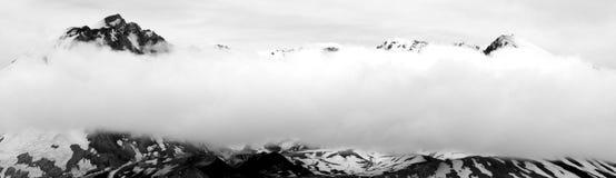 Sommità di Mt St Helens nello stato di Wahington Fotografia Stock Libera da Diritti