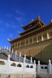 Sommità dorata di Emei del supporto della Cina Immagini Stock Libere da Diritti