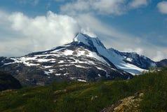 Sommità in Jotunheimen immagine stock