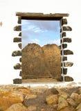 Sommità nella porta Fotografia Stock