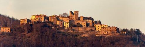 Sommocolonia-Dorf - Lucca-Provinz Toskana Italien lizenzfreie stockbilder