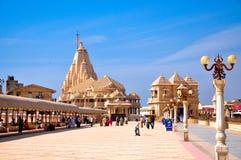 Somnath Tempelmittel Lizenzfreie Stockfotos