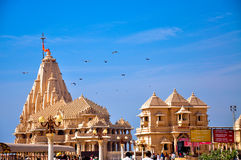 Somnath temple Royalty Free Stock Photo