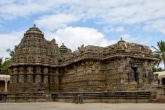Somnathpur寺庙迈索尔 库存照片