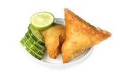 Somocha with slice cucumber Stock Photo