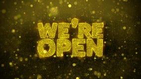 Somos tarjeta de felicitaciones abierta de los deseos, invitación, fuego artificial de la celebración