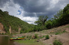 Somoto Canyon. The Somoto Canyon near the border of Honduras in Nicaragua royalty free stock photos