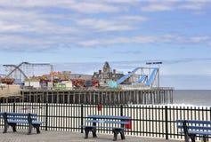 Somrar på Jersey Shore arkivbild