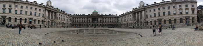 Somerset House, courtyard of Somerset House, London Stock Photography