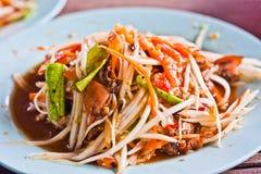 Somtam-Thaifoods Stock Foto's