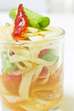 Somtum,Thai Spicy Papaya Salad.  Stock Photography