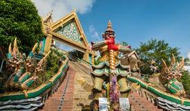 Sonó el templo Wat Khao Rang de la colina en phuket, Tailandia Fotos de archivo libres de regalías