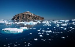 Son antarctique Images stock