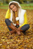 Son automne ! 2 Photos libres de droits