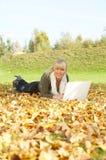 Son automne ! Images libres de droits