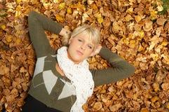 Son automne ! Image libre de droits