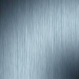 Son bleu en aluminium Photographie stock libre de droits