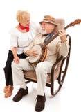 son chou serenading Image stock