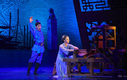 """Son is coming home-Dance drama """"The Dream of Maritime Silk Road"""" Stock Photos"""