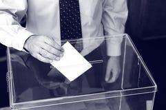 Son heure pour des élections photos stock