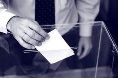 Son heure pour des élections Image stock