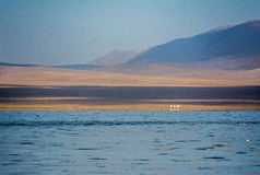 Son-Kul Lake. Picture during my trip around the South of Kyrgyzstan Stock Photos