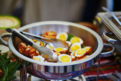Son-in-law Eggs - Kai Loog Keuy Stock Image