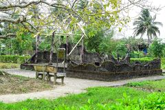 Son My, Vietnam - March 23, 2016: The My Lai Massacre memorial site. The My Lai massacre was the Vietnam War mass killing of betwe Royalty Free Stock Photo