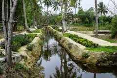 Son My, Vietnam - March 23, 2016: The My Lai Massacre memorial site. The My Lai massacre was the Vietnam War mass killing Royalty Free Stock Image