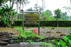 Son My, Vietnam - March 23, 2016: The My Lai Massacre memorial site. The My Lai massacre was the Vietnam War mass killing Royalty Free Stock Photography