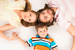 Son and parents Royalty Free Stock Photography