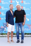 Son Paskal and Enzo Gragnaniello at Giffoni Film Festival 2016. Giffoni Valle Piana, Sa, Italy - July 18, 2016 : Son Paskal and Enzo Gragnaniello at Giffoni Film Stock Photos