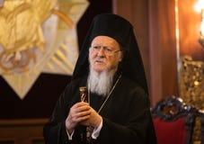 Son patriarche oecuménique Bartholomew de Tout-sainteté photo stock