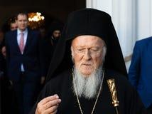 Son patriarche oecuménique Bartholomew de Tout-sainteté image stock