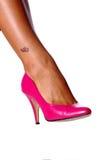 Son pied droit Photo libre de droits
