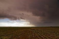 Son pleuvoir Photo stock