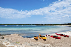 Son Saura beach Royalty Free Stock Images