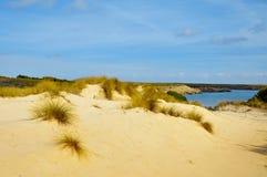 Son Saura beach in Menorca Balearic Islands  Spai. View of Son Saura beach in Menorca, Balearic Islands, Spain Royalty Free Stock Image