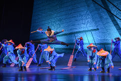 "Son of the Sea-Dance drama ""The Dream of Maritime Silk Road"" Stock Images"