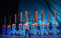 "Son of the Sea-Dance drama ""The Dream of Maritime Silk Road"" Royalty Free Stock Image"