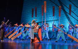 "Son of the Sea-Dance drama ""The Dream of Maritime Silk Road"" Stock Photo"